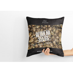 Regular Seed's Pillow - Regular Cannabis Seeds - Merch