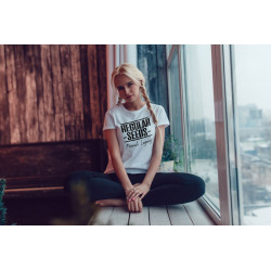 Regular Seed's Unisex White T-shirt - Semillas de marihuana regulares - Merch