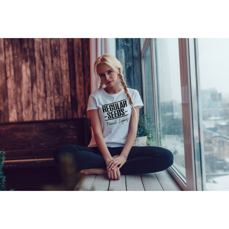 Regular Seed's Unisex White T-shirt - Regular Cannabis Seeds - Merch