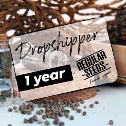 Abonnement Dropshipping 1 an - Graines de cannabis régulières - Distribution