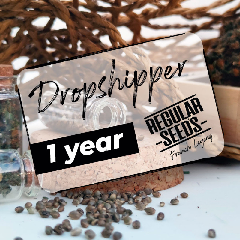 Dropshipping subscription 1 year - Regular Cannabis Seeds - Distribution