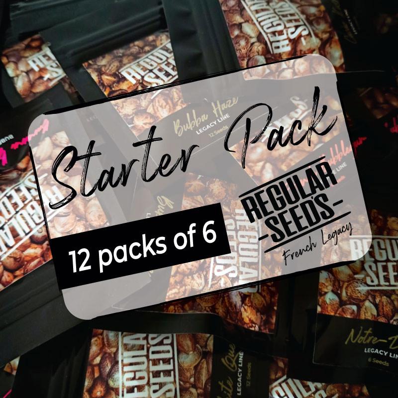 Distributor Starter Pack - Graines de cannabis régulières - Distribution