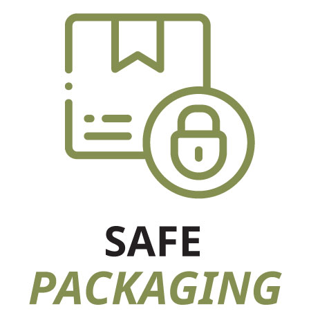 Safe and designed packaging